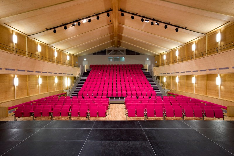 Auditorium du Pontet  --  Crédit photo LIGNATEC KLH