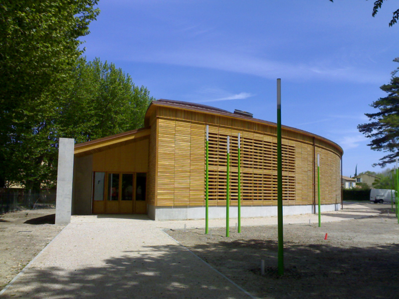 Auditorium du Pontet - crédit photo: Lignatec